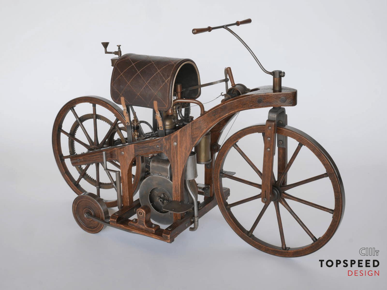 Daimler Reitwagen | Topspeed Design by Bernhard Schmidt