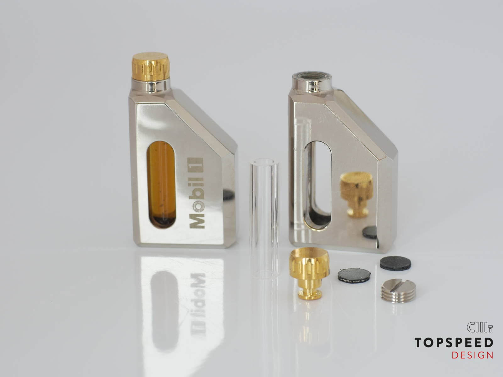 Mobil1 Ölkanister | Topspeed Design by Bernhard Schmidt