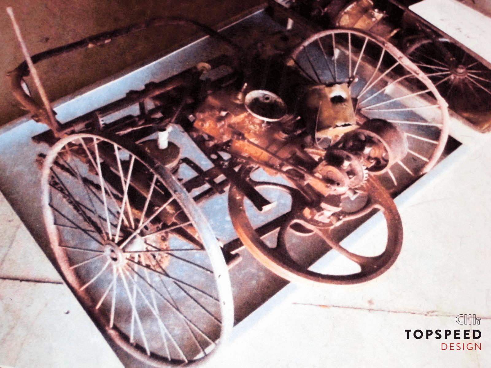 Überreste nach Museumsbrand | Topspeed Design by Bernhard Schmidt