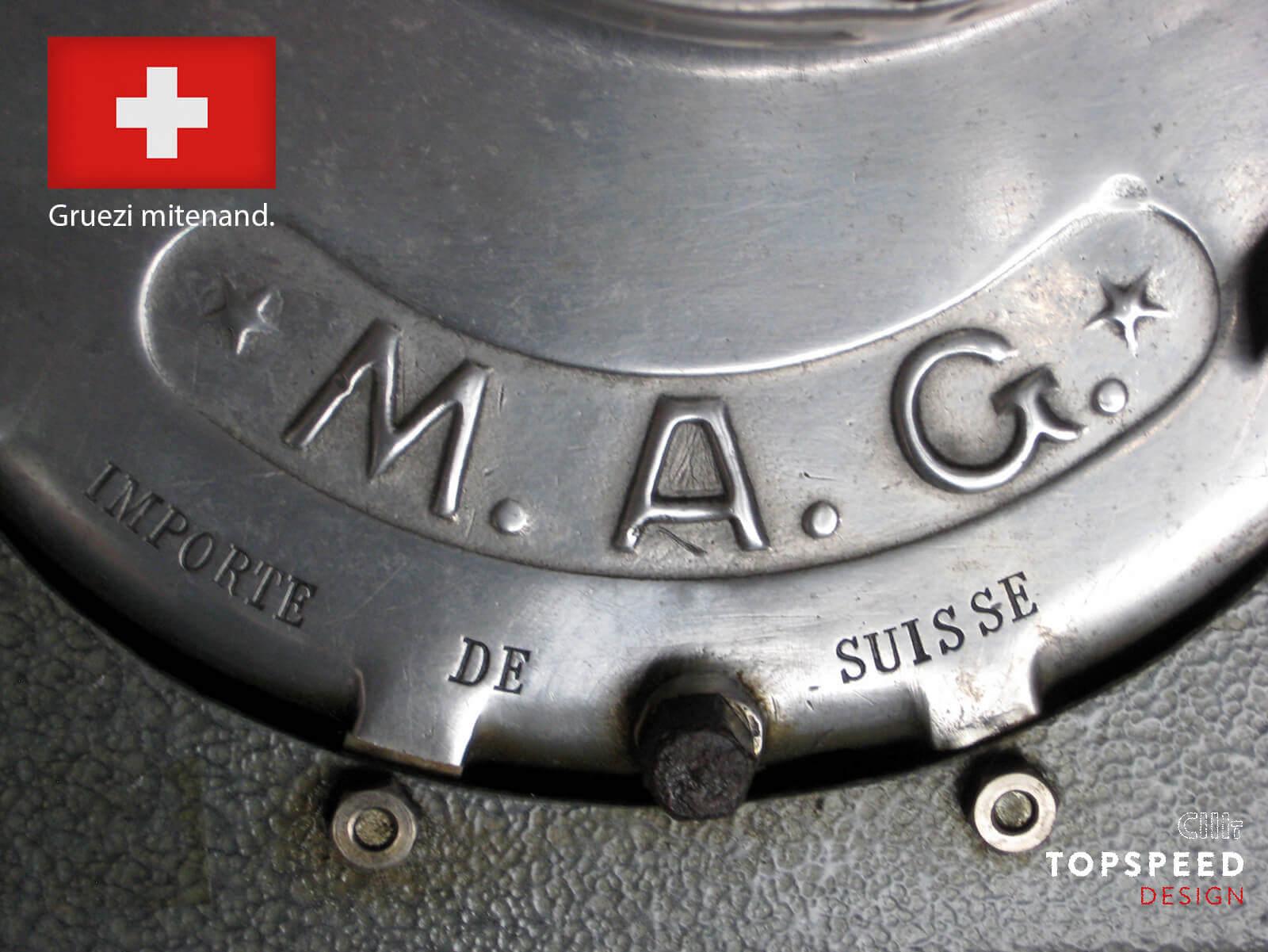 MAG oder Motosacoche | Topspeed-Design by Bernhard Schmidt