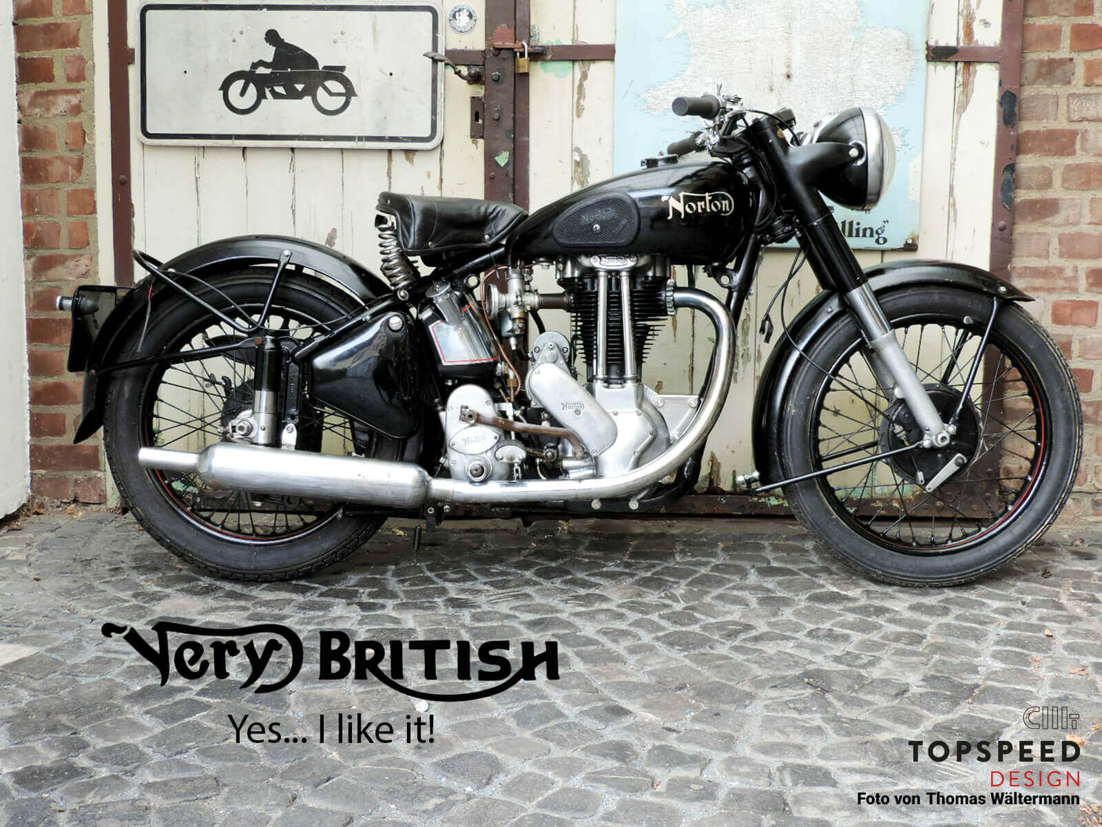 Very British Yes...I like it! | Topspeed-Design by Bernhard Schmidt
