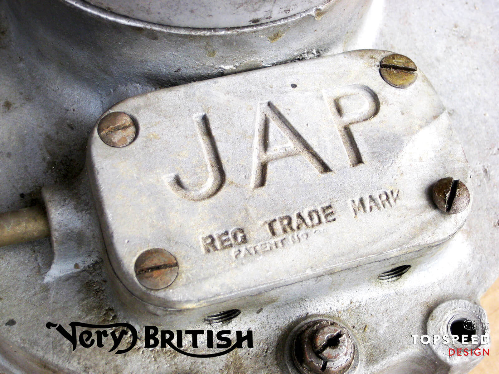 Very British...do you like it? JAP | Topspeed-Design by Bernhard Schmidt