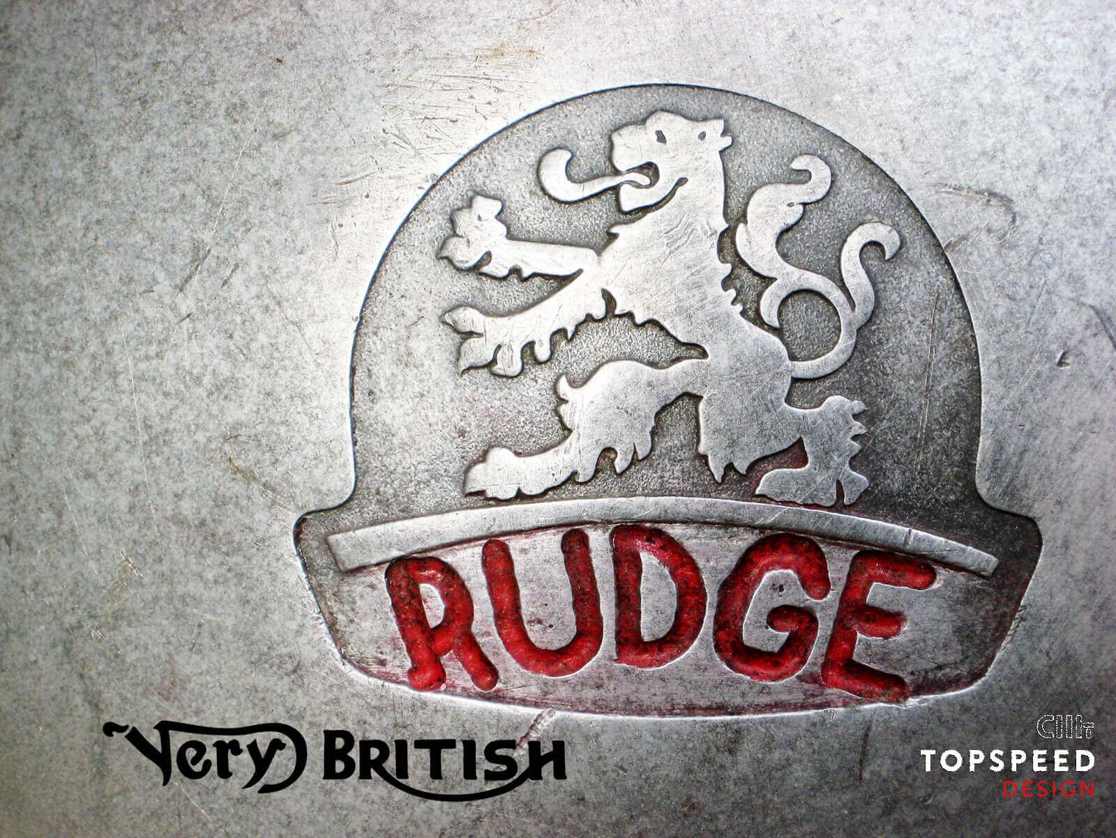 Very British...do you like it? Rudge | Topspeed-Design by Bernhard Schmidt