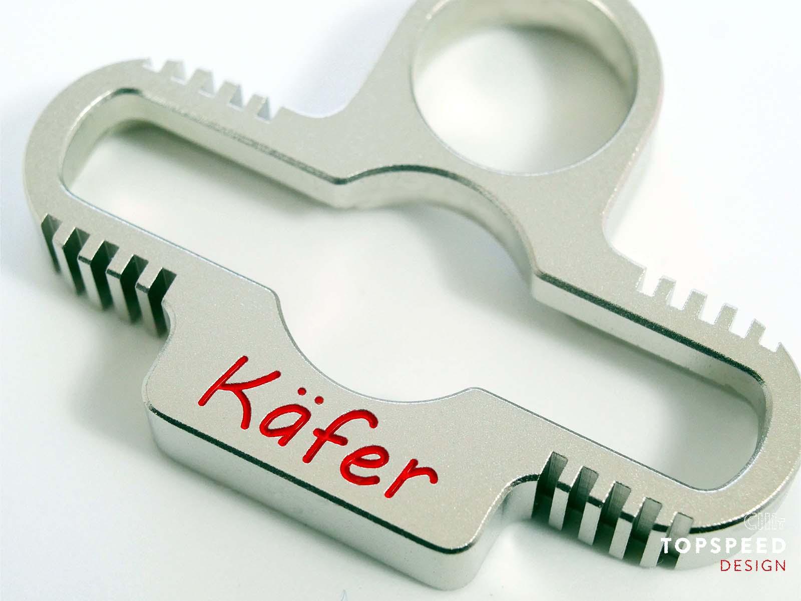 Motorblock für Schlüsselanhänger Käfer | Topspeed Design by Bernhard Schmidt